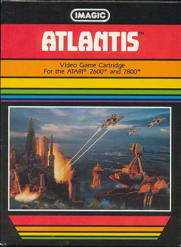 Atlantis Atari 2600 ROM на Bit-Games