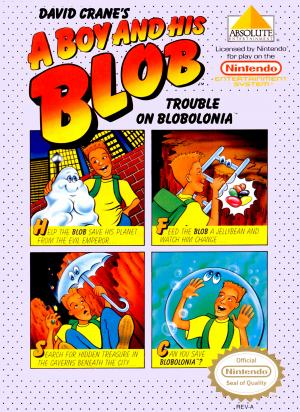 David Crane's A Boy and His Blob: Trouble on Blobolonia